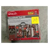 Apollo Household Tool Kit (71-Piece) in good condition
