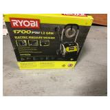 RYOBI 1,700 PSI 1.2 GPM Electric Pressure Washer in good condition