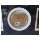 """NEW YORK YANKEES - YANKEE STADIUM OPENING DAY 1923 & 2008 COMMEMORATIVE GAME USED DIRT COLLAGE W/COA! - STEINER COLLECTIBLES - AWESOME PIECE! - APPROX 23"""" BY 19"""" - SEE PICTURES!"""