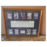 """MINNESOTA TWINS """"1991 GREATEST WORLD SERIES OF ALL TIME"""" CARD SIGN! APPROX 22"""" BY 18"""" - WITH ORIGINAL 1991 HOMER HANKY & STAR TRIBUNE PAPERS! - SEE PICTURES!"""