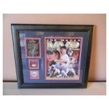 AWESOME JOE MAUER 2009 AL MVP COMMEMORATIVE INAUGURAL GAME USED DIRT TARGET FIELD COLLAGE W/COA! - VERY RARE 10 OF 500! - SEE PICTURES!