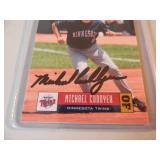 Minnesota Twins Michael Cuddyer - SIGNED BASEBALL CARD!! - VERY NICE PIECE!! - SEE PICTURES!