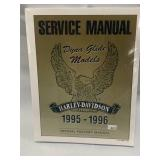 Harley Davidson 1995-96 Dyna Glide Factory Manual (still sealed)