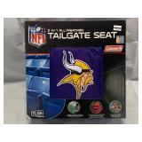 Minnesota Vikings 3 in 1 Tailgating Seat, Poncho, Picnic Padding