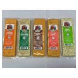 Lot of 5 Wisconsin Farmers Market Cheese (best buy 02/2020)