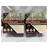 Black Diamond Hardwood Charcoal (good for 14 grillings) Lot of 2