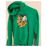 UND Fighting Sioux Tongue Sweatshirt Size Large