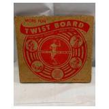 Antique Exercise Twist Board