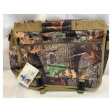 New Woodland Camo Messenger / Computer Bag