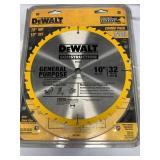 "Dewalt 10"" Construction Single Blade"
