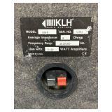 """KLH Speaker Model 609-8 20"""" Tall"""