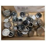 Lot of 22 Padlocks with Combinations