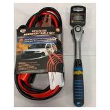 Astro Pneumatic Ratchet Wrench & Booster Cables