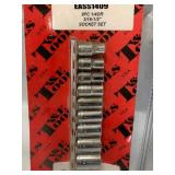 New 9pc Made in USA Socket Set & 3 in 1 Stud Finder