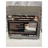 6pc Shop Gym Garage Floor Mat Set