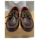 New Timberland Leather Boat Shoes Size 6 1/2