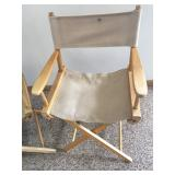 Set of 2 Directors Chairs