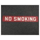 Metal No Smoking Sign
