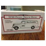 Ertl Ben Franklin 1938 Panel Truck Bank