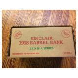 Ertl Sinclair 1918 Ford Barrel Bank