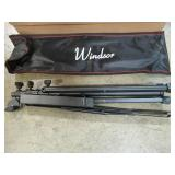 10 Windsor 050151-BK Windsor Music Stand With Bag - Black - NEW IN BOXES