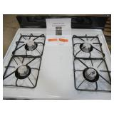 GE 30 in Hotpoint Freestanding Gas Range in White, RG518PCHWH - Dents/Scratches on Side Panels