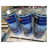 6 Containers of Gardner-gibson Black Jack 4.75GAL ALU Coating, 5175-A-30