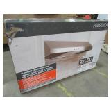 Presenza 30 in. Under Cabinet Range Hood in Stainless Steel with LED Light, QR045 - NEW IN BOX