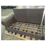 2 Wicker/Rattan Lounge Chairs In nice condition, Missing Cushions.