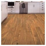 allen + roth Valley Maple 6.14-in W x 3.93-ft L Smooth Wood Plank Laminate Flooring AR902 (24.18 Sq Ft/Case) - 5 Cases