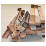 Lot of Reel Braces & Misc Iron