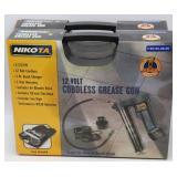 (2) NIKOTA 12V Cordless Grease Guns