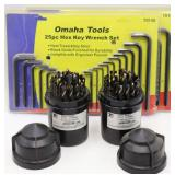 (2) Allen Wrench & Drill Bit Sets