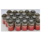 Lot of (21) Bottles of Never-Seez Anti-Seez Lubricant