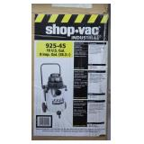 Shop-Vac Industrial 925-45 10gal Model QPL650 Stainless Steel Tank Wet/Dry Vac