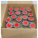 Box of Red Top Tank Shutoff Indicators