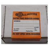 Gallagher Electric Fence Energizer Module