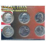Oval Office Collection Washington Quarters