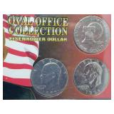 Oval Office Collection Eisenhower Dollar
