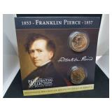 Franklin Pierce Presidential Coin Collection and Coin