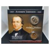 Andrew Johnson Presidential Coin Collection and Coin