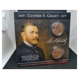 Ulysses S. Grant Presidential Coin Collection and Coin