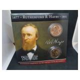 Rutherford B. Hayes Presidential Coin Collection and Coin