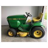 John Deere Model 212 Lawn Mower Garden Tractor