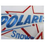 Large Lot of NOS Unused Vintage POLARIS Promo Advertising Patches & Stickers