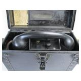 Old Vintage CHICAGO & EASTERN ILLINOIS RAILROAD Hand Crank Telephone