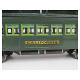 LARGE Pre-War LIONEL State Set California No. 412 Pullman Car