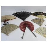 Group of Antique Hand Fans