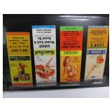 Collection of Original Vintage PINUP Girlie Matchbook Covers
