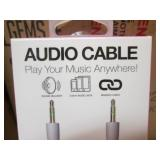 "Lot of 48 36"" Braided Audio Cables ..."